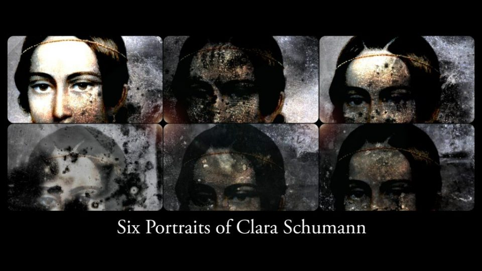 Six portraits of Clara Schumann