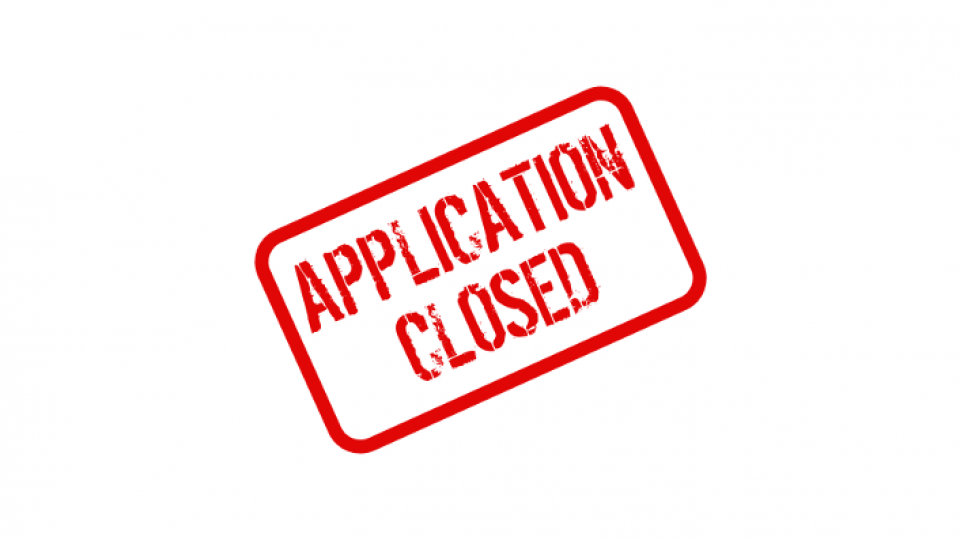 Application_closed